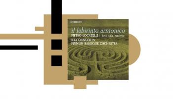"""Vijolnieks Iļja Grīngolts un ansamblis """"Il labirinto armonico"""" Pjetro Lokatelli koncertos"""