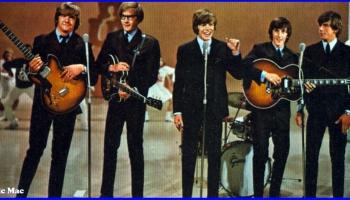 "Britu grupa ""Herman's Hermits"" - populāra grupa 20.gadsimta 60.gados"