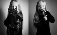 """Fotosērijā """"Es esmu"""" - stāsts par Agnesi, meiteni ar īpašām vajadzībām"""