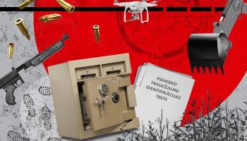 #14 Arī Latvijā notiek traģēdijas, ko izraisa nepiemērotās rokās nonākuši ieroči