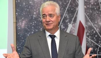 Наш гость - посол Республики Беларусь в Латвии