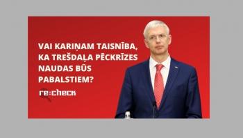 "Re:Check: Covid pabalsti un ""airBaltic"", nauda kultūrai un NATO skolas Latvijā"