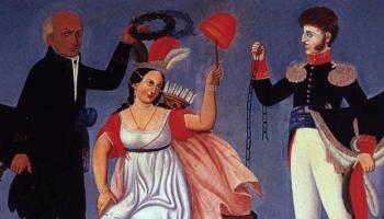 Meksika svin neatkarību no Spānijas
