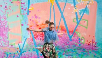 Māksliniece Kristīne Kutepova: Man patīk, ja mūziķiem piemīt humora izjūta