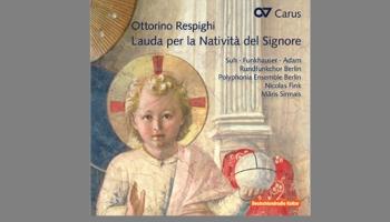 "Ziemassvētku mūzikas albums ""Lauda per la Nativita del Signore"" (Carus, 2015)"