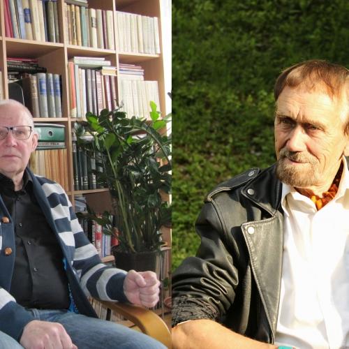 Vārda un skaņas meistari ar lielo burtu – dzejnieks Viks un skaņu režisors Kārlis Pinnis