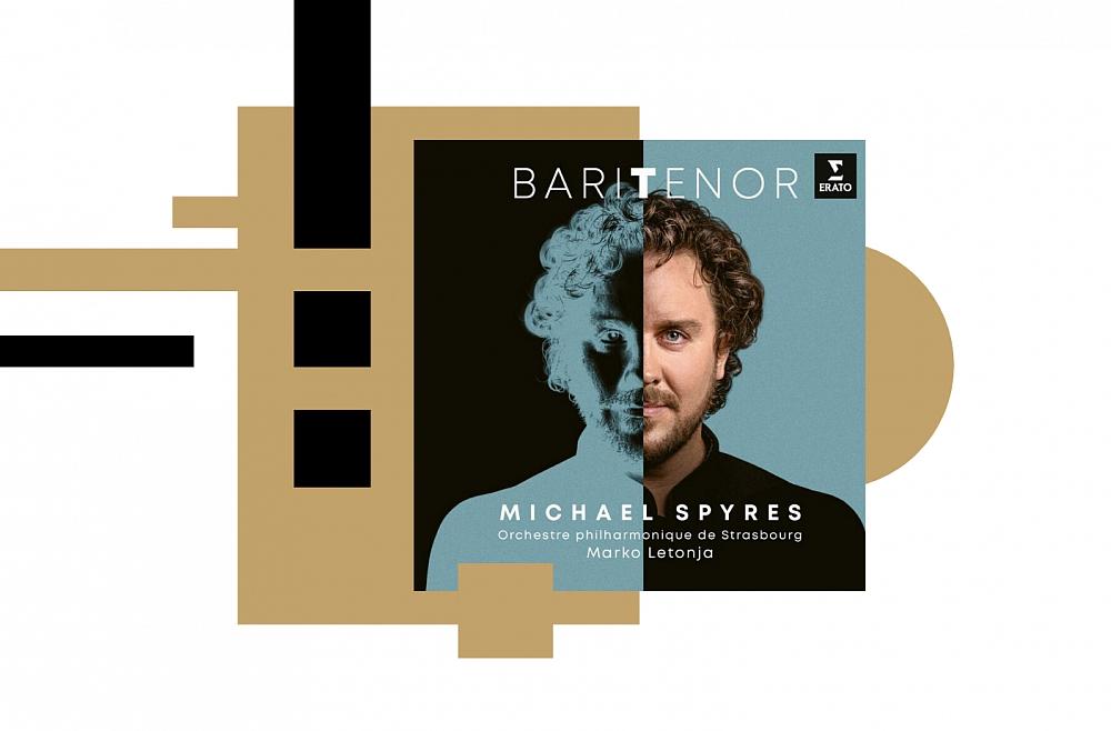 """Maikls Spairss, Strasbūras FO un diriģents Marko Letonja opermūzikas albumā """"BariTenor"""""""