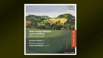 "Ralfa Vona-Viljamsa Koncerts obojai un britu mūzika ""Harmonia Mundi"" jaunajā albumā"