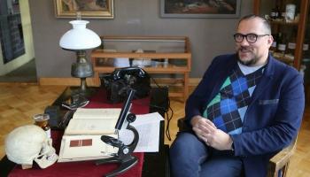 Talsu novada muzeja direktors Uldis Jaunzems-Pētersons