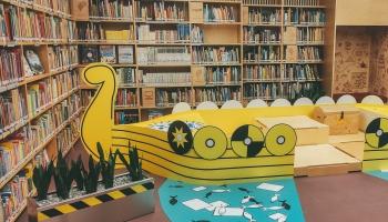 """LNB bērni varēs doties ceļojumā izstādē """"Grāmatu plūdi"""""""