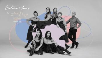 """Par """"Latvian Voices"""" piekto a cappella festivālu stāsta Laura Jēkabsone"""