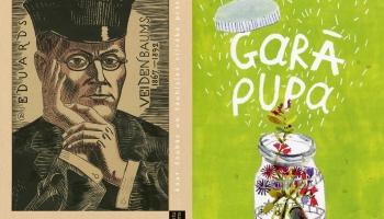 """Rakstu krājums par Eduardu Veidenbaumu un dzejas gadagrāmata """"Garā pupa"""""""