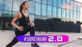 #5BREINUMI 2.0 & Laine Lubgane par fitnesu uzsākot jaunu gadu