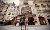 """Par Štrausa """"Salomes"""" neparasto iestudējumu Parīzē stāsta Āris Matesovičs un Artūrs Čukurs"""