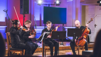"""Festivāla """"DeciBels"""" koncerts """"Terraformation"""" J. Vītola Latvijas Mūzikas akadēmijā"""
