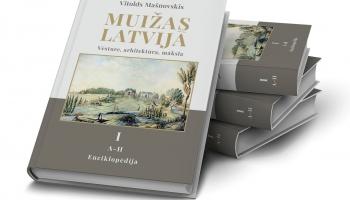 "Vitolda Mašnovska enciklopēdija ""Muižas Latvijā"""
