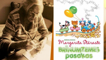 #100burvjuburtiLV. Margarita Stāraste