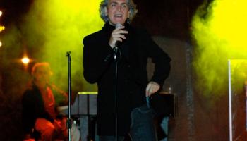80. gados populārais itāļu dziedātājs Rikardo Foli