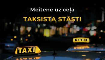 Meitene uz ceļa | Taksista stāsti - 7.sērija