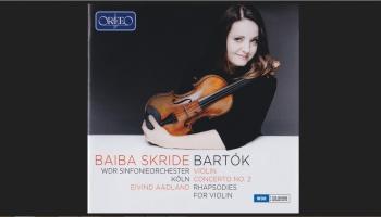 "Pirmatskaņojums ""Klasikā""! Albums ""Baiba Skride - Bartok"" (Orfeo, 2017)"
