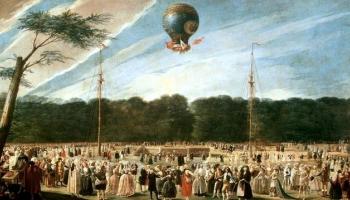 21 ноября. Первый полёт на воздушном шаре