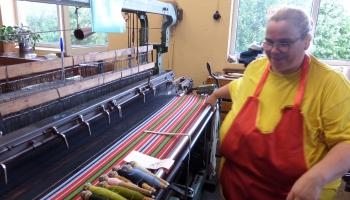 Лимбажи: город мастеров, или Музыка ткацких станков (ФОТО)