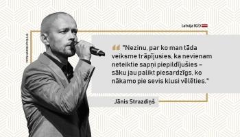 """""""The Real Group"""" bass Jānis Strazdiņš: Jūtos ārkārtīgi izredzēts, ka man tā veicas"""