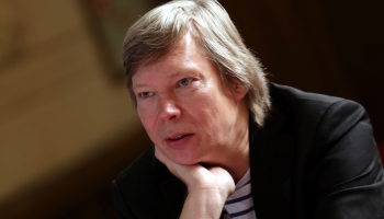 Pīters Donahjū: Gribētos, lai Lielbritānijā būtu vairāk tādu cilvēku kā Normunds Šnē