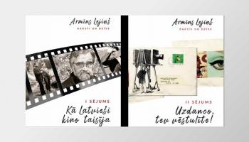 Kinozinātnieks Agris Redovičs apkopojis kinodramaturga Armīna Lejiņa radošo mantojumu