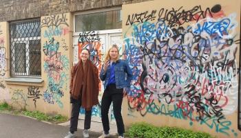 """Māksliniece Agnese Čemme Torņkalnā atvērusi savu mākslas galeriju un studiju """"AG galerija"""""""