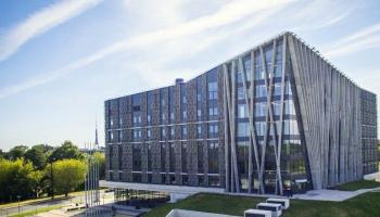 LU studentu pilsētas Torņkalna projekts redzams izstādē par Junkera investīciju plānu