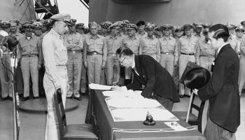 Otrais pasaules karš: Japānas kapitulācija