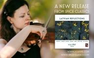 """Vijolniece Aija Rēķe (ASV) debijas albumā """"Latvian Reflections"""" un sarunā ar """"Klasiku"""""""
