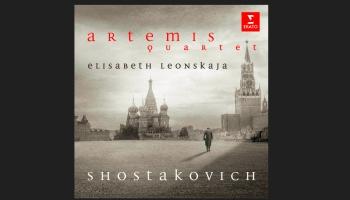 """Pirmatskaņojums """"Klasikā""""! """"Artemis"""" kvartets Dmitrija Šostakoviča mūzikas albumā (2019)"""