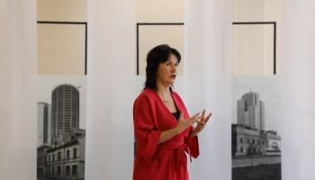 """Par brīvdabas mākslas parku """"Mobilais muzejs. Nākamā sezona"""" stāsta Solvita Krese"""