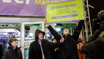 FINĀLS: Labdarības maratonā DOD PIECI!  šogad saziedoti 120 046 eiro