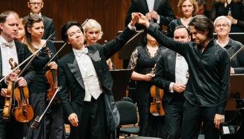 """""""Trio Fabel"""", LNSO un Osokins, festivāla """"Trīs zvaignes"""" izskaņa, Hanters un Vudvarda"""