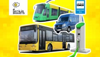 Dabai draudzīgs sabiedriskais transports Rīgā