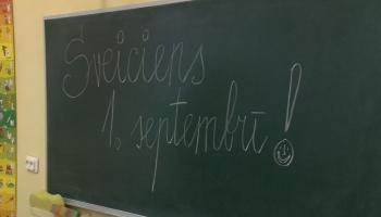 Tuvojas 1.septembris