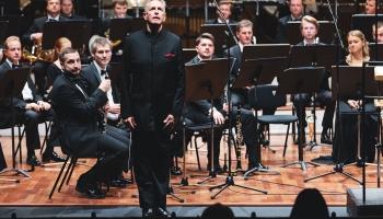 """Orķestris """"Rīga"""" un diriģents Daglass Bostoks festivāla """"Windstream"""" atklāšanas koncertā"""