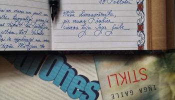 Inga Gaile par dienasgrāmatām, dzeju, feminismu (un ne tikai)