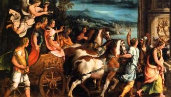 """Roma liesmās, imperators piedod... Kristofa Vilibalda Gluka opera """"Tita žēlsirdība"""""""