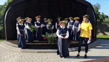 """Gaidot Vasaras saulgriežus, iepazīsimies ar Rojas sieviešu kori """"Kalva"""""""