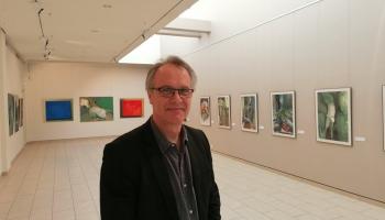 """Jāņa Maļecka personālizstāde """"Dienasgrāmata"""" Jūrmalas muzejā"""