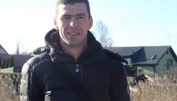 Рыбак Артурс Якобсонс. Работа с надеждой и ветер в лицо
