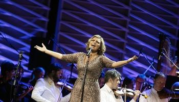 """Koncerts """"LNSO. Bernsteins, Gēršvins, Elingtons, Bjorka un Linda Leen"""""""