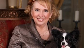 Par suņiem, kaķiem un mūziku. Latvijas Kinoloģiskās federācijas prezidente Vija Klučniece