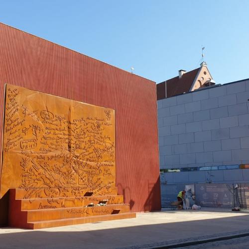 Okupācijas muzeja pārbūve tuvojas finišam
