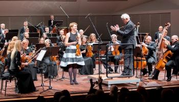 Vineta Sareika (vijole), Liepājas Simfoniskais orķestris un diriģents Lucs Kēlers Liepājas