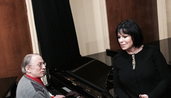 """Inese Galante un Aivara Kalēja """"Šūpļa dziesma"""""""